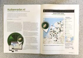 Kuikenradar in KleindierMagazine